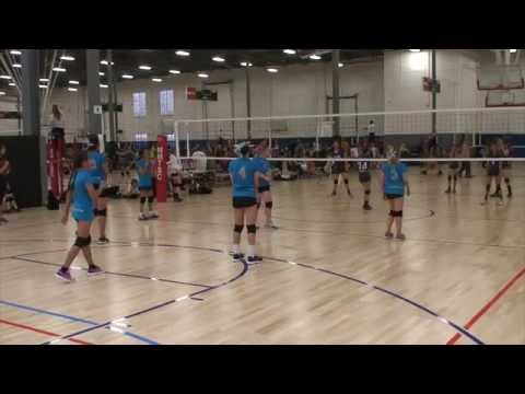 Offshore Volleyball 12-2 vs SoCal VBC 12 (Match 3) 3/7/15 (W)
