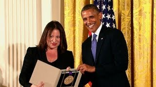 President Obama Awards the 2012 National Medals of Arts and Humanities