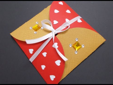 DIY Gift Idea How To Make Cute Envelope In 5 Mins For Your Boyfriend Girlfriend