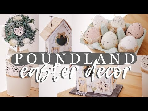 DIY POUNDLAND EASTER 2019 *FARMHOUSE INSPIRED*