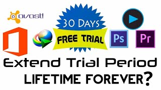 How to extend trial period of any software in Hind - 2019 latest trick