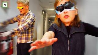 Finne lunsj på NRK i BLINDE