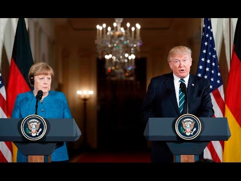 Thumbnail: German reporter confronts Trump with pointed question on media