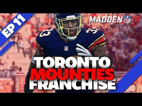 MADDEN 18 FRANCHISE MODE: Can Our Backup QB Lead Us to the PLAYOFFS?! | EP11