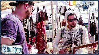 Drei Schnäppchenjäger auf dem Flohmarkt in Los Angeles | MoinMoin mit Etienne, Simon & Dennis