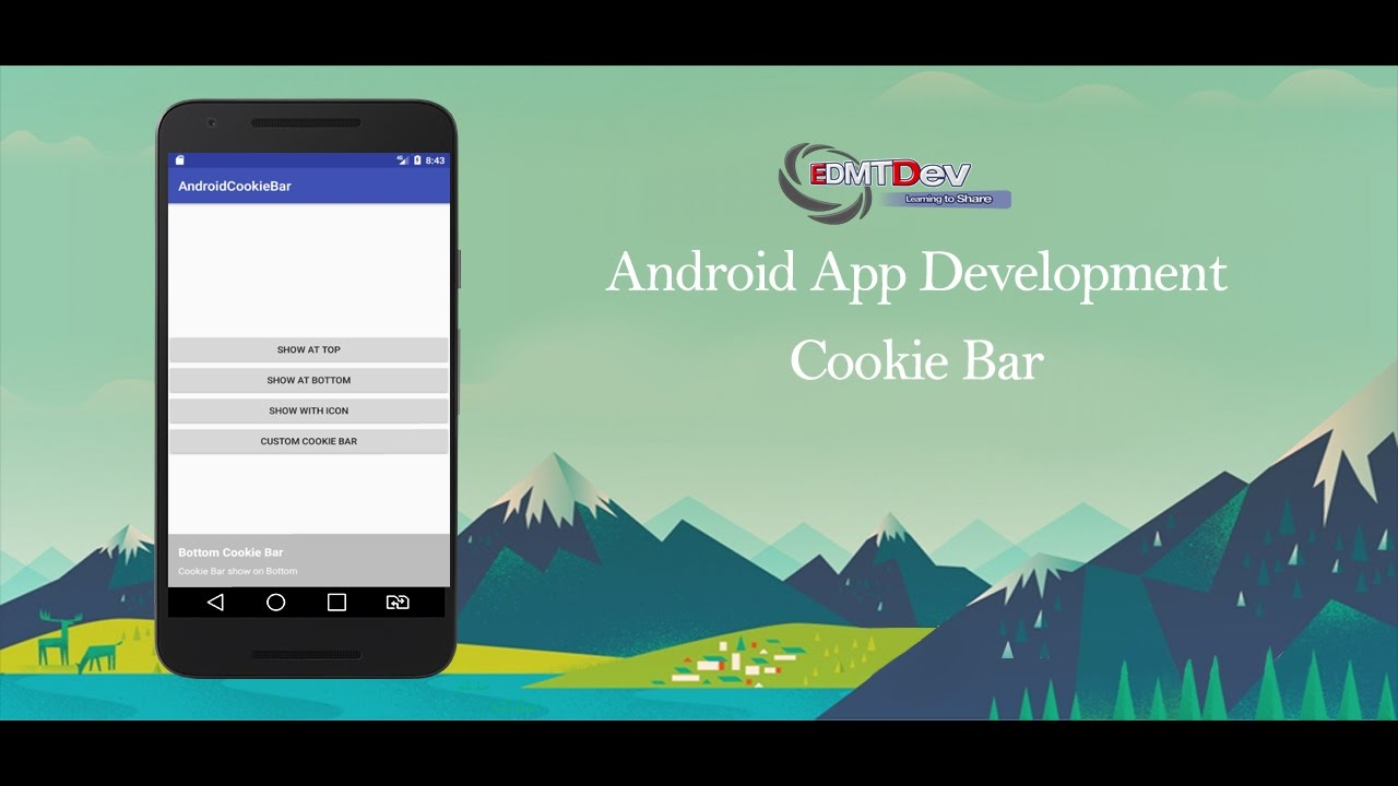 Android Studio Tutorial - Cookie Bar