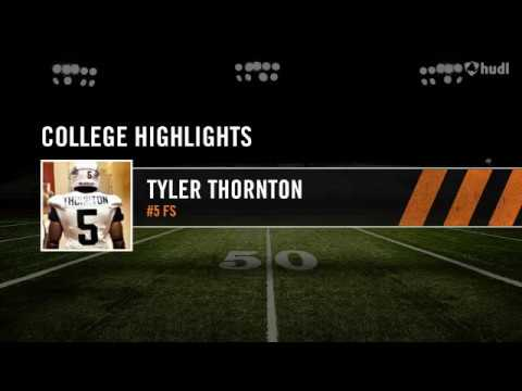 "Tyler ""Thor"" Thornton College Highlights"