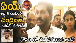 YS Jagan Shocking Comments on Chanrababu Naidu About His Babai Incident | TE Tv