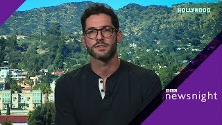Lucifer actor Tom Ellis on saving the show  - BBC News
