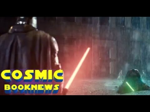 Zack Snyder Justice League Star Wars Trailer: Dark Side Knight Vs. Super Jedi