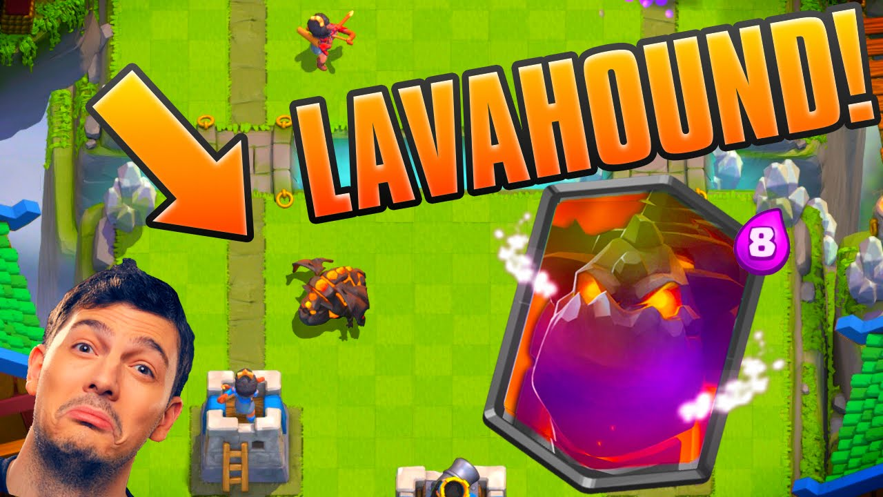 Legendary Lava Hound Card Clash Royale Possible Update