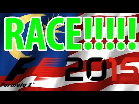 (Reupload with no black space) F1 2015 Malaysia Race