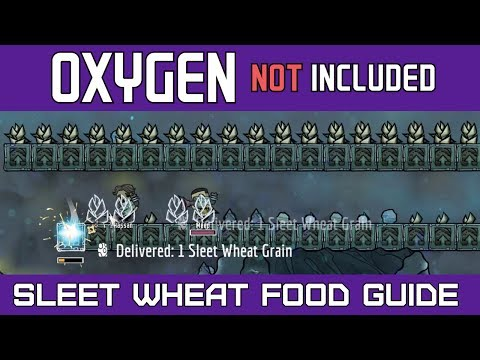 Oxygen Not Included | Sleet Wheat Food Growing Guide