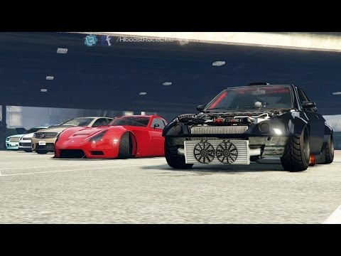 Grand Theft Auto V Online (PS4)   Airport Drag Meet   Faction, V12 Schwartzer Top Speed Runs & More