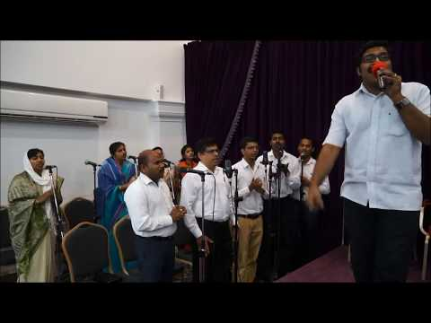 Tamil Live Praise and Worship, June 2, 2017, Word of God Church, Doha Qatar