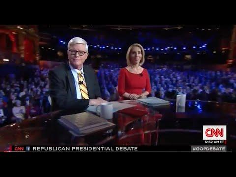 CNN Debate Las Vegas- Hugh Hewitt questions the GOP candidates