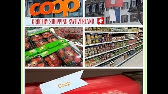 Switzerland Grocery Shopping | Coop | Shopping Haul | Follow me
