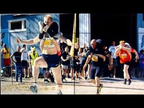 Finland Wife-Carrying Competition vs. Crowns New Champion