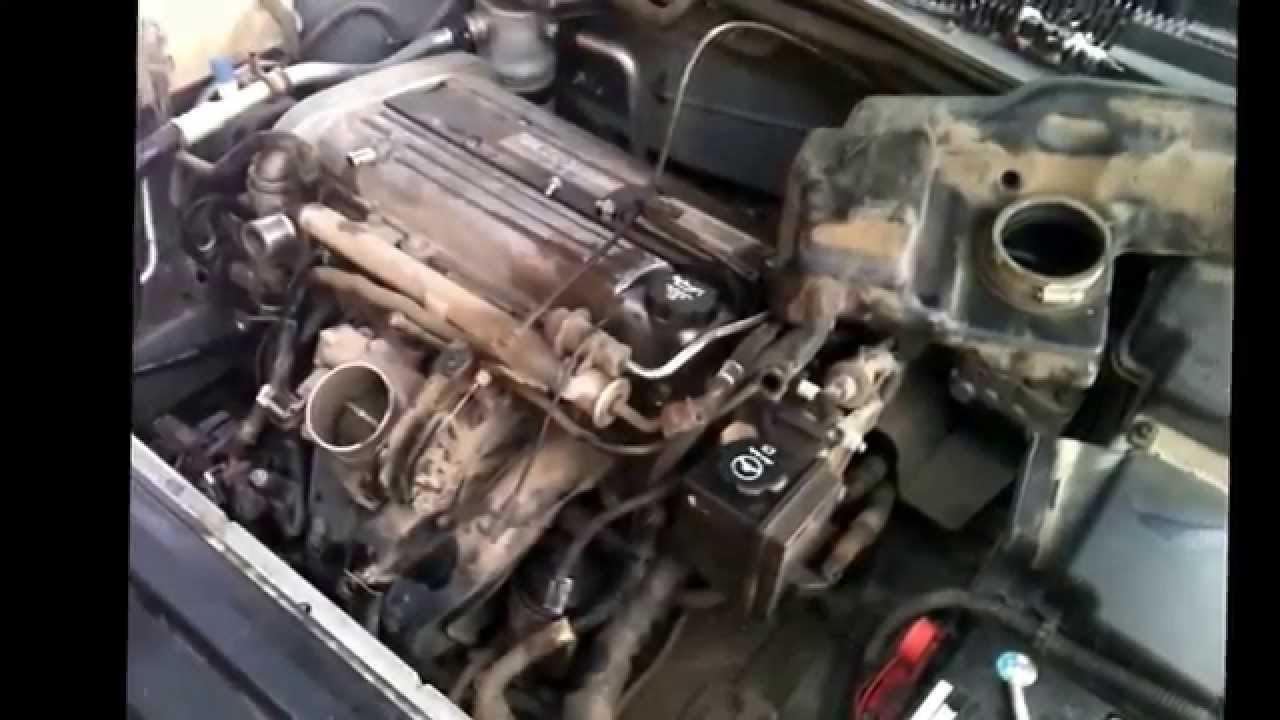 chevrolet cavalier alternator replacement youtube