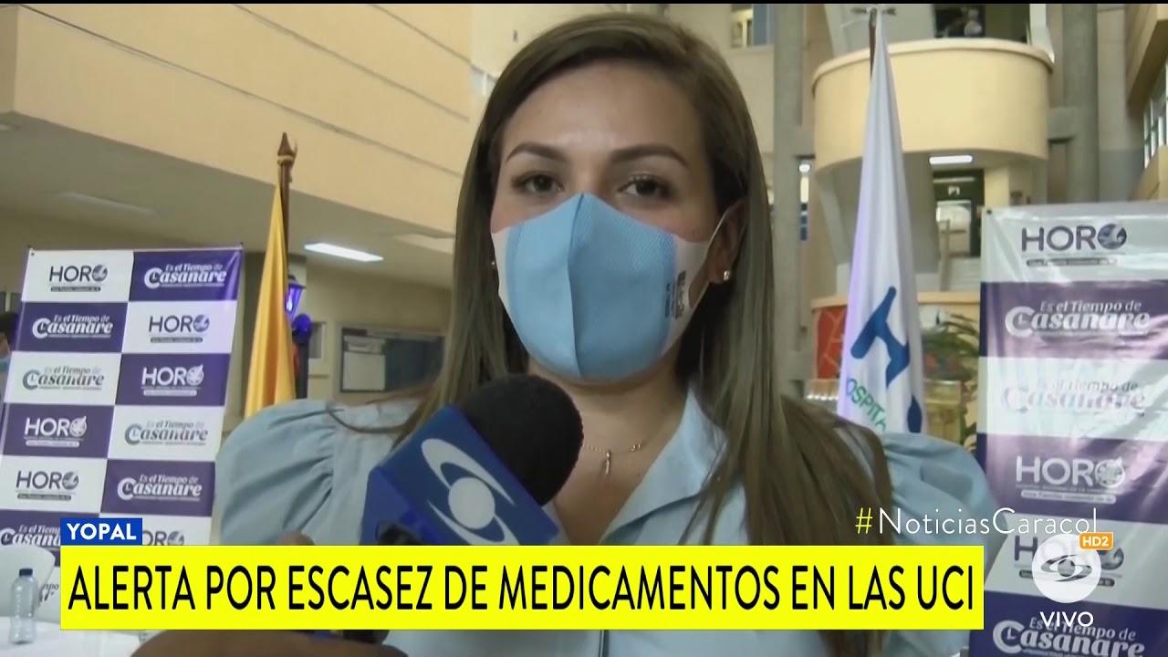 ALERTA POR FALTA DE MEDICAMNETOS PARA LA ATECIÓN DE PACIENTES COVID
