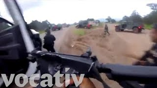 Body Cam Captures Moment Drug Cartel Ambushes Mexican Police