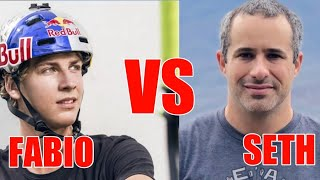 FABIO WIBMER VS SETH (BERM PEAK) // BEST MTB RIDERS //2020