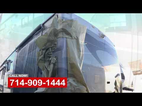 RV Body Damage Repair Orange County California