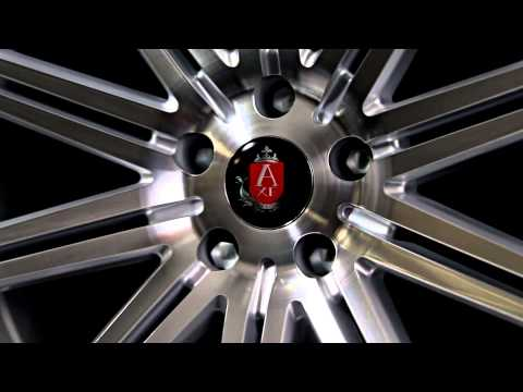 Axe EX15 Silver Polished Concave Alloy wheels