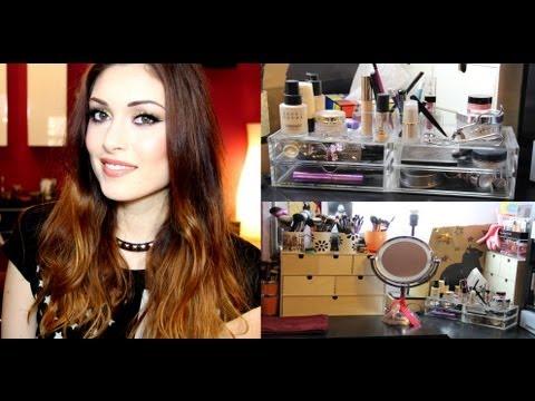 My make up table (aggiornata)!   CherylPandemonium