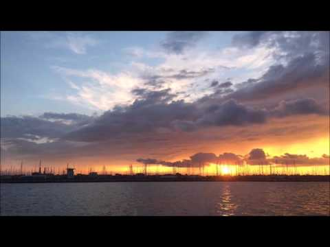 Sunset Time-lapse Marina di Ravenna ( Italy ) - 10 August 2016