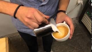 Олег Козлов - Рисует сердечко на кофе(Видео-вызовы присылать сюда vizzzov@gmail.com Магазинчик: http://vizzzov.printdirect.ru/ Полные выпуски: http://www.youtube.com/user/LizzzTV Оф...., 2015-12-15T18:55:43.000Z)