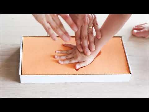 Foya Anleitung Für Hand Und Fußabdrücke Youtube
