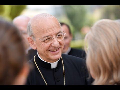 El prelado del Opus Dei en Barcelona (15 de julio de 2017)