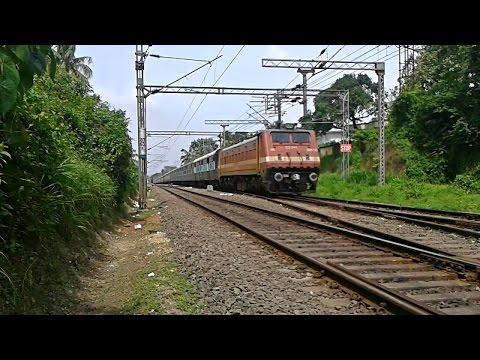 Venad Express crunching tracks 22nd halt Aluva