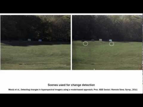 Michael Eismann: Hyperspectral remote sensing