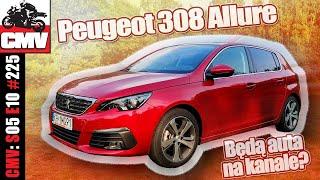 Peugeot 308 Allure Plus - Pierwsze wrażenia - bo czemu by nie dorzucić aut na kanał - CMV#225