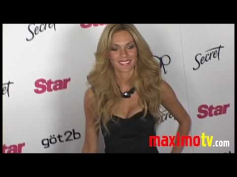 Brea Grant and Jasmine Dustin at STAR MAGAZINE YOUNG HOLLYWOOD EVENT