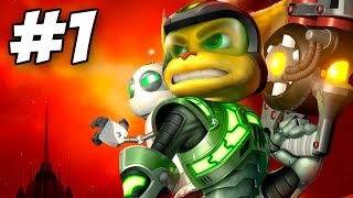 Ratchet and Clank 3: Up Your Arsenal Walkthrough Part 1 No Commentary PS3 (60fps Gameplay)