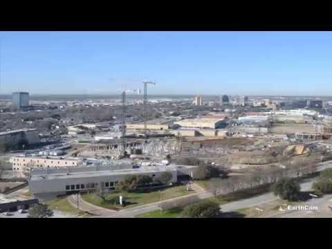 UT Southwestern William P. Clements Jr. University Hospital Construction Time-Lapse