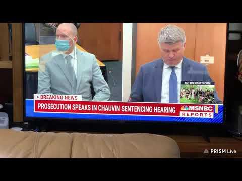 Derek Chauvin Sentencing Hearing In The Murder Of George Floyd Livestream