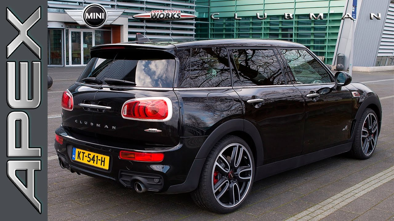 mini john cooper works clubman all4 testdrive english subtitles 2017 youtube. Black Bedroom Furniture Sets. Home Design Ideas