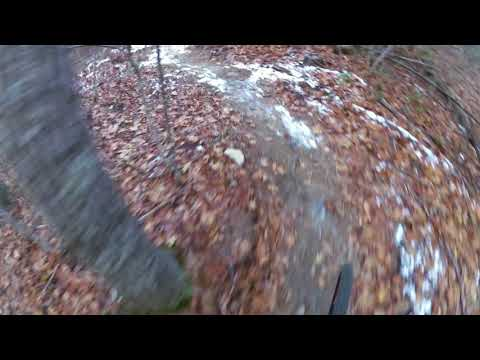 MTB Ride downhill Shumway Trail Marshall Reservation North Conway NH_0016