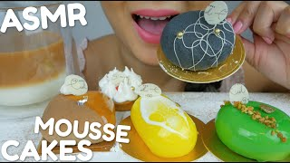 ASMR Mousse Cakes *No Talking Soft Relaxing Eating Sounds | N.E ASMR