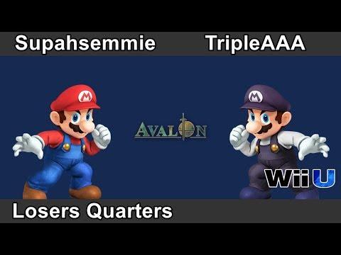 Avalon U-IX | Supahsemmie (Mario) vs TripleAAA (Mario) | Losers Quarters
