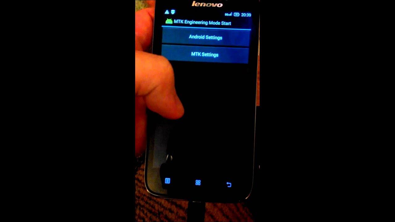 Mobile Info: Lenovo A3900 Reset