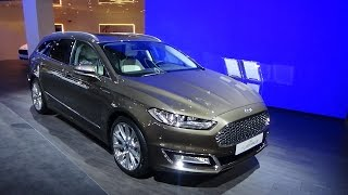 2016 - Ford Mondeo Vignale - Exterior and Interior - Auto Show Brussels 2016