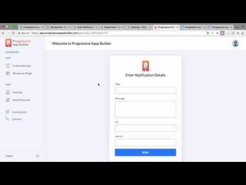 Progressive Apps Builder Review From Real User-Progressvie Apps Builder Demo and Explanation