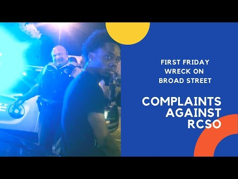 First Friday Wrecks Lead to Complaints Against RCSO