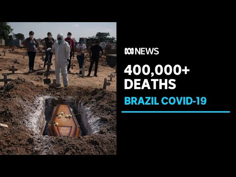 Experts sound the alarm over vaccine shortage after Brazil surpasses 400,000 COVID deaths | ABC News