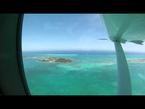 Tropic Air flight Belize City to San Pedro Ambergris Caye